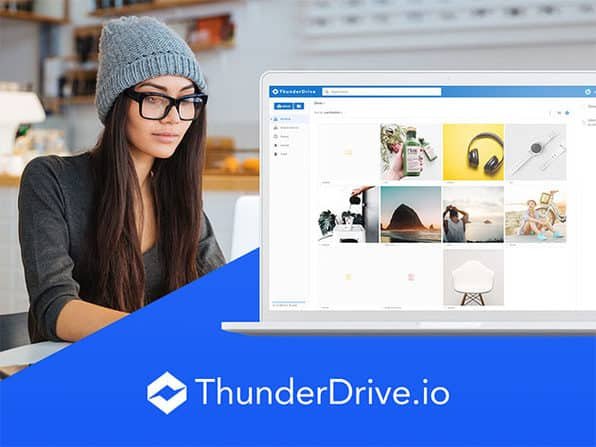 ThunderDrive 2TB of Cloud Storage: Lifetime Subscription $23.40