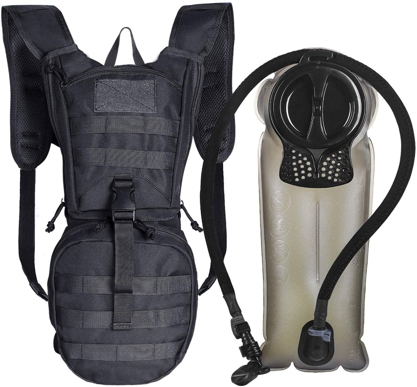 Unigear Tactical Hydration Packs Backpack Series (Various Colors) w/ 2.5L Water Bladder From $19.99 + FS