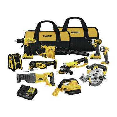 DEWALT 20V MAX Lithium-Ion 10 Tool Combo Kit. DCK1020D2 New - $449 + FS