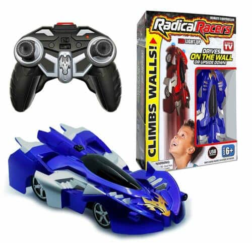 Radical Racers - Remote Controlled Wall-Climbing Race Car - RED OR BLUE! NEW - $17.49 + FS