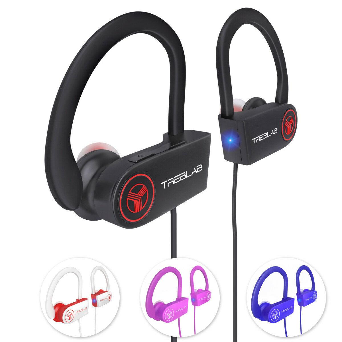TREBLAB XR100 Sports Bluetooth Earbuds for $11.99 + Free Shipping w/PRIME