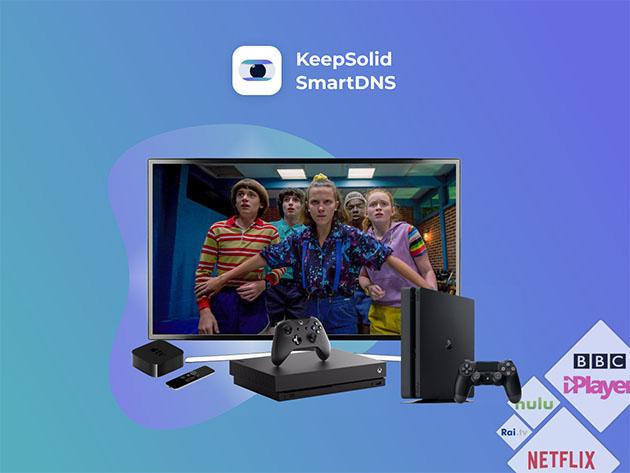 KeepSolid SmartDNS: Lifetime Subscription $29