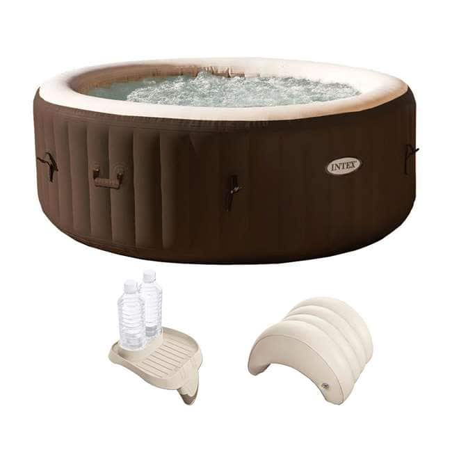 $279.00 - Intex PureSpa 4-Person Hot Tub with Cupholder and Headrest - Coupon Code: SPA1720 + FS