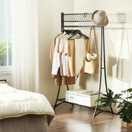 SONGMICS Grid Shelf Garment Rack $20.99 + FS