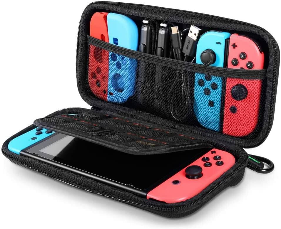 Nintendo Switch Carrying Case with 9 Game Cartridges Card Slots and other cases from $7.97 + Free Shipping w/PRIME