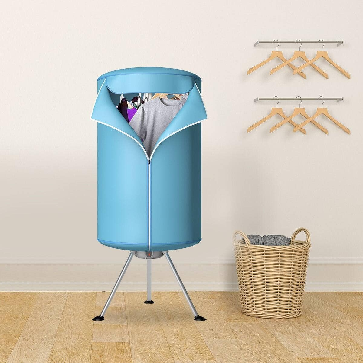 Portable Ventless Laundry Clothes Dryer Folding Drying Machine Heater $57.95 + FS
