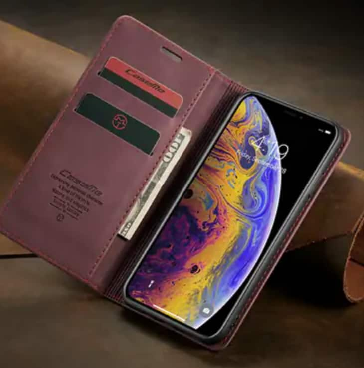 Magnetic Flip Wallet Phone Cases for iPhone Xs/Max/XR/X/8,Samsung S20/S20 Plus/S10/S10 Plus $7.69 + FS