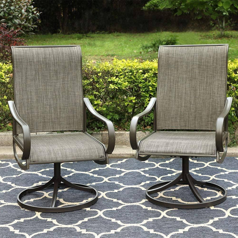 Patio Swivel Rocker Chair Outdoor Dining Set Starts From $184.80 + FS