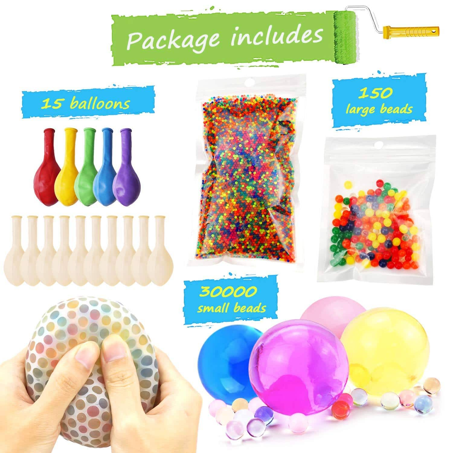Water Beads Pack for Kids plus Tactile Sensory Toys $11.39 + Free Shipping w/PRIME