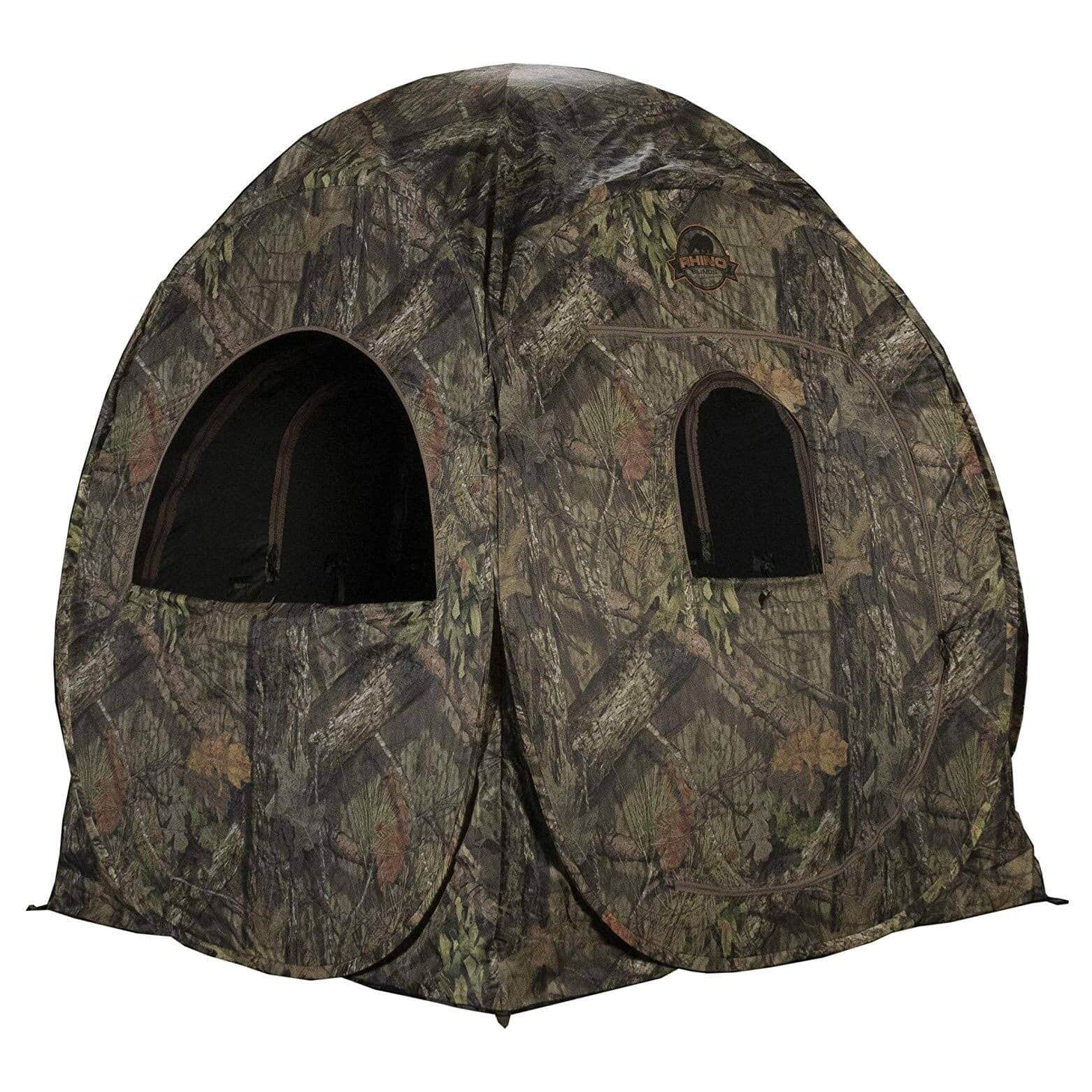 Rhino Blinds R75-MOC Mossy Oak Breakup Country Water Repellent 2-Person Blind $48.99 + FS