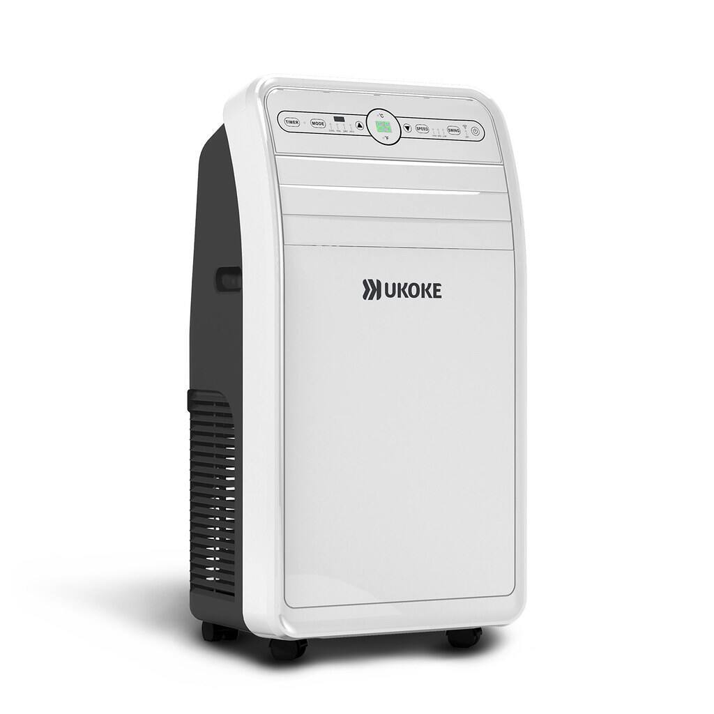 Ukoke USPC01W Smart Wifi Portable Air Conditioner, Works with Mobile App Control, 12000 BTU $339.99 + FS