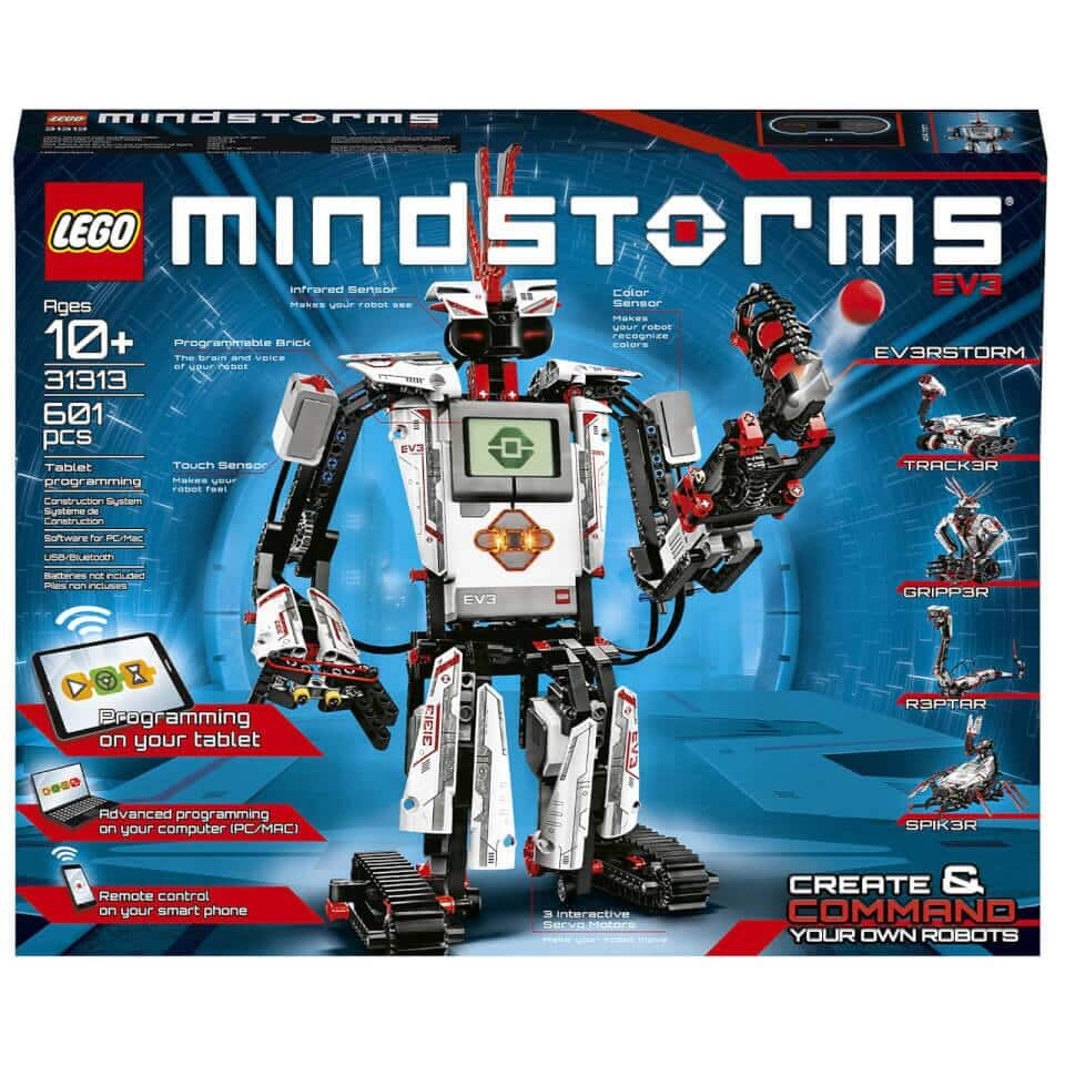 LEGO Mindstorms: EV3 Robot Coding Robotics Kit (31313) Only $253.99 + Free Shipping