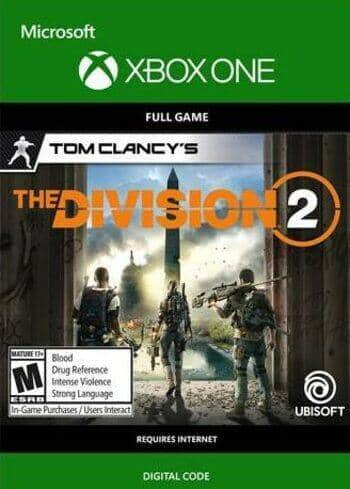 [Xbox] Tom Clancy's The Division 2 for $8 including service fees