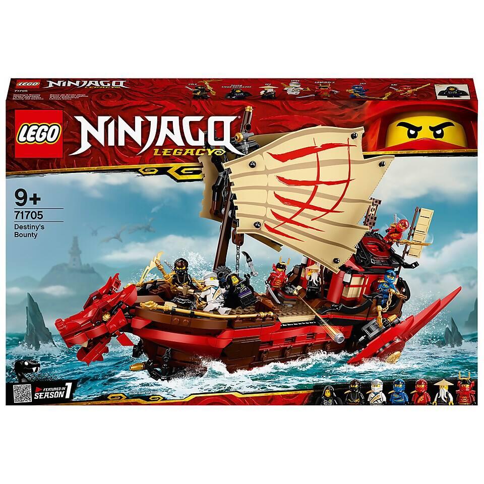 LEGO Ninjago: Destiny's Bounty (71705) Only $114.99 + Free Shipping with Code - DESTINY