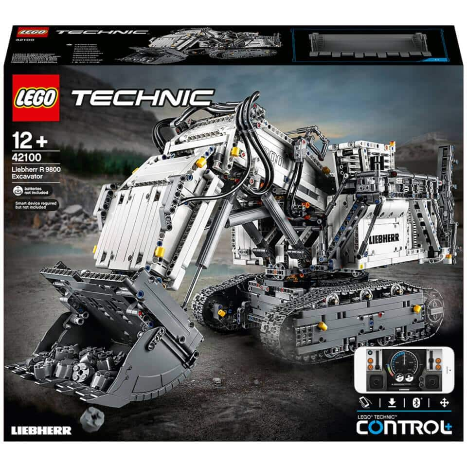 LEGO Technic: Control+ Liebherr R 9800 Excavator Set (42100) $359.99 + Free Shipping using code: LEGOR9800