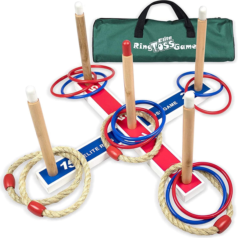 Andromache via Amazon: Elite Sportz Ring Toss Games for Kids $16.97 + FS with PRIME
