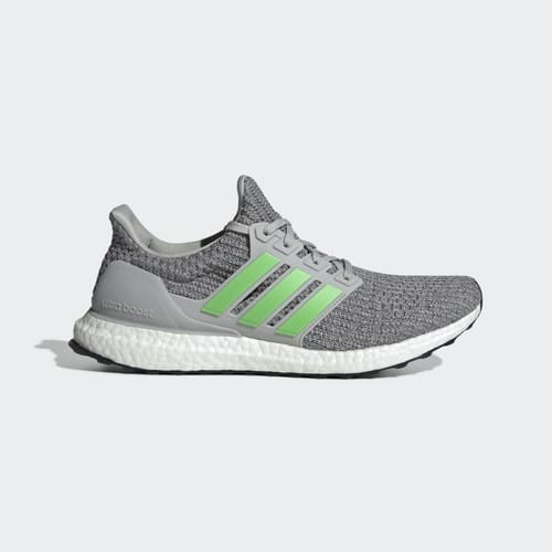 more photos 78575 1b0c0 adidas Men's Ultraboost Shoes (Grey/Lime/Grey) - Slickdeals.net