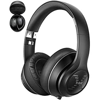 Tribit XFree Tune Bluetooth Headphones (Black Only) $20.19 after coupon and discount code.
