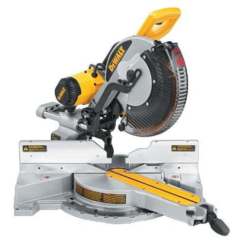DEWALT DWS780 12-Inch Double Bevel Sliding Compound Miter Saw + FREE choice of DWX723 or DWX726 Stands $598.67 on AMAZON