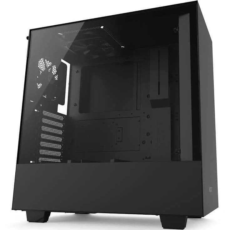 NZXT H500 Tempered Glass Mid Tower Case $59.99 ($65 +tax)