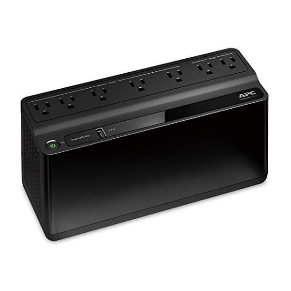 APC 600VA UPS with USB Charger $45.49
