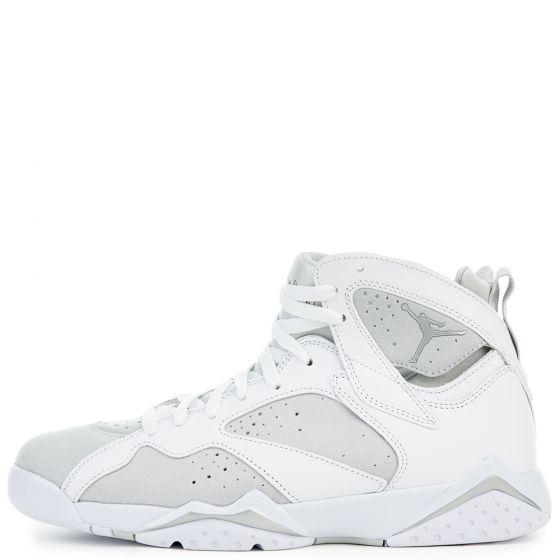 Nike Air Jordan 7 Retro Men's Basketball Shoes (White/Silver or Blue/ White) $115 + Free S&H w/Nike account