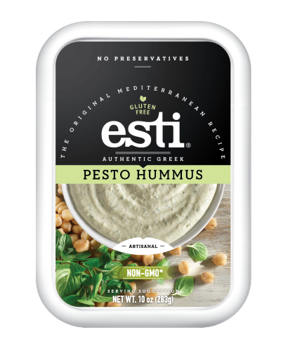 Esti Foods Pesto Hummus, 10 Oz, Baba  Ghanoush and more 50 ¢ents Jet.com