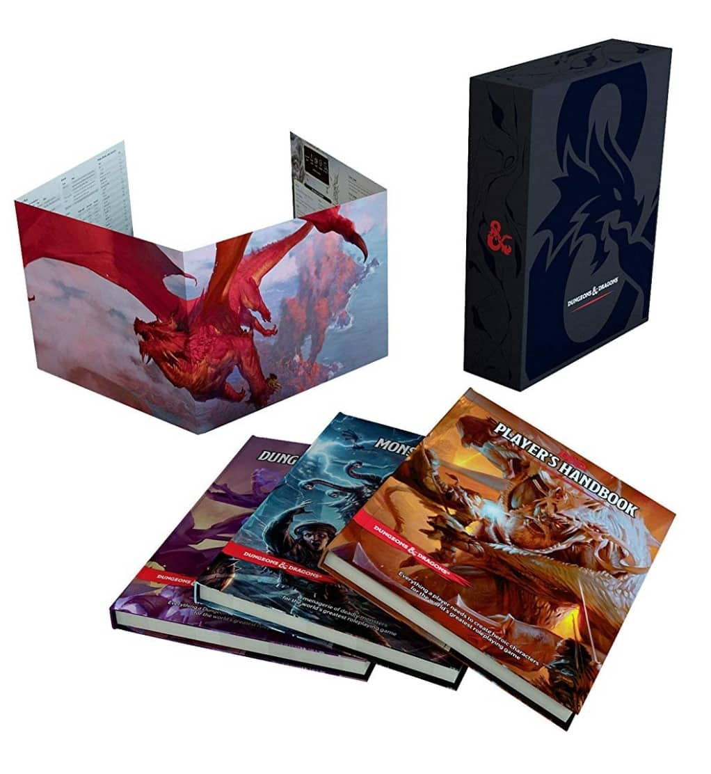 Dungeons and Dragons Core Rulebooks Gift Set $84.94