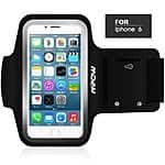 Mpow Sweatproof Armband Case for iPhone 5/6 or Galaxy S5  $7