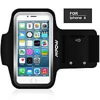 Amazon Deal: Mpow® Running Sport Sweatproof Armband Case + Key Holder for iPhone 5/5C/5S, iPhone 6, and Samsung Galaxy S5 for $6.99 AC + Free Shipping w/ Prime or FSSS @ Amazon.com
