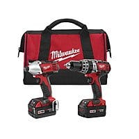 CPO Milwaukee Outlet Deal: Milwaukee M18 Li-Ion XC 2-Tool (Hammer Drill & Impact Driver) Combo Kit 2697-22 RECON - $150 + FS @CPO via eBay, NEW + Free XC Battery - $269 @CPO