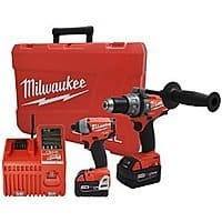 eBay Deal: Milwaukee M18 FUEL Brushless Hammer Drill & Impact Driver XC Combo Kit 2797-22 REFURB - $200 + FS @ CPO via eBay