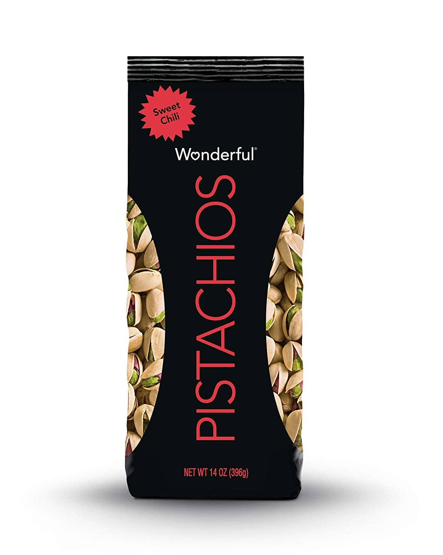 14oz. Wonderful Pistachios (Sweet Chili Flavor) $3.80 w/ S&S + Free S&H