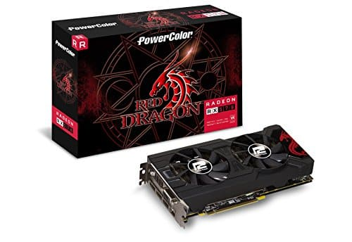 Powercolor Red Dragon Radeon RX 570 4GB video card $104.99