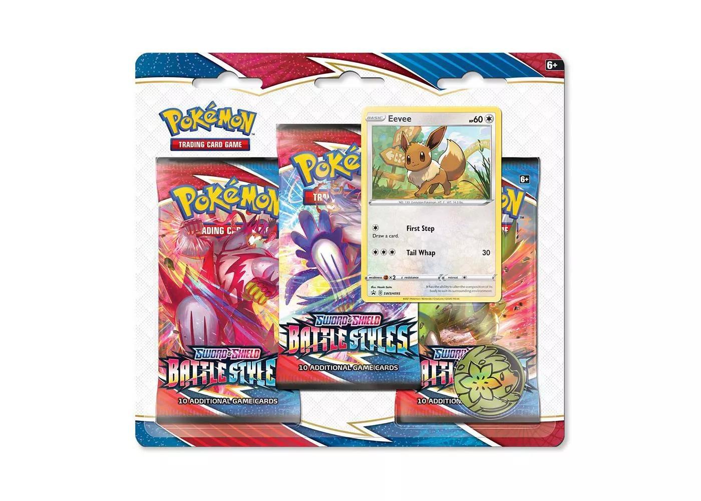 Pokemon Card Sword Shield Battle Styles 3pk at Target $12.99