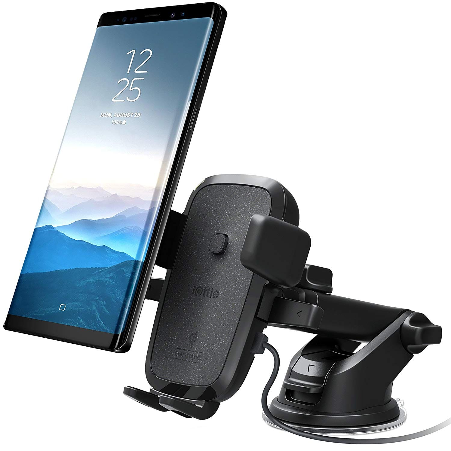 iOttie Easy One Touch Qi Wireless Fast Charge Car Mount - $32.95