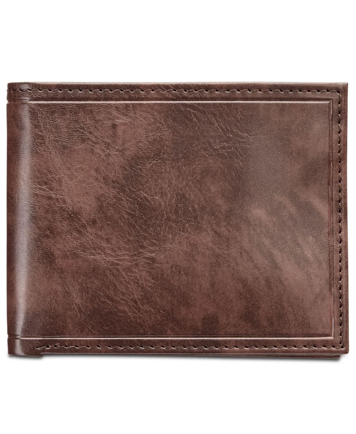 Men's Faux-Leather Wallet, Created for Macy's $11.99