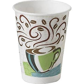 Dixie® PerfecTouch® Insulated Hot Cups, 12 oz., Coffee Haze, 50/Pack (5342CD) $2.99