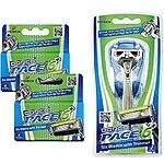 Amazon Lightning Deal: Dorco Pace 6 Plus- Six Blade Razor System 10 cartridges plus handle  - $16.79 FSSS