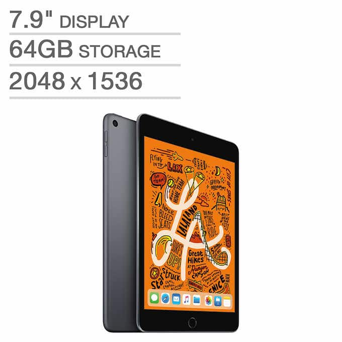Apple iPad mini - A12 Chip - Latest Models - 64GB ($349.99) - 256GB ($489.99)