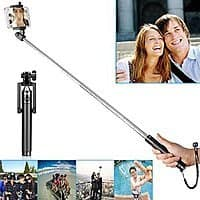 Amazon Deal: Selfie Stick with Built-in Bluetooth Remote Shutter  $2.39 with free prime shipping!!