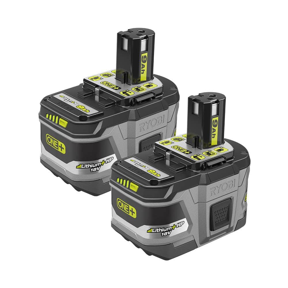 18-Volt ONE+ Lithium-Ion LITHIUM+ HP 9.0 Ah High Capacity Battery (2-Pack) $199