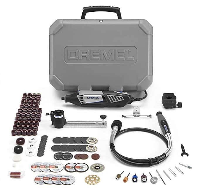 Dremel Gift Kit- Rotary Tool with 3 Attachments and 100 Accessories $93