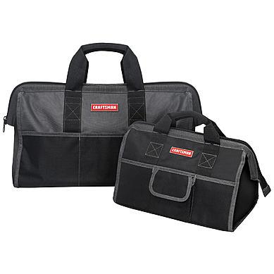 "Sears Online Only price -- Craftsman 16"" & 20"" Tool Bag Set $12.99 + Free In-Store Pickup"