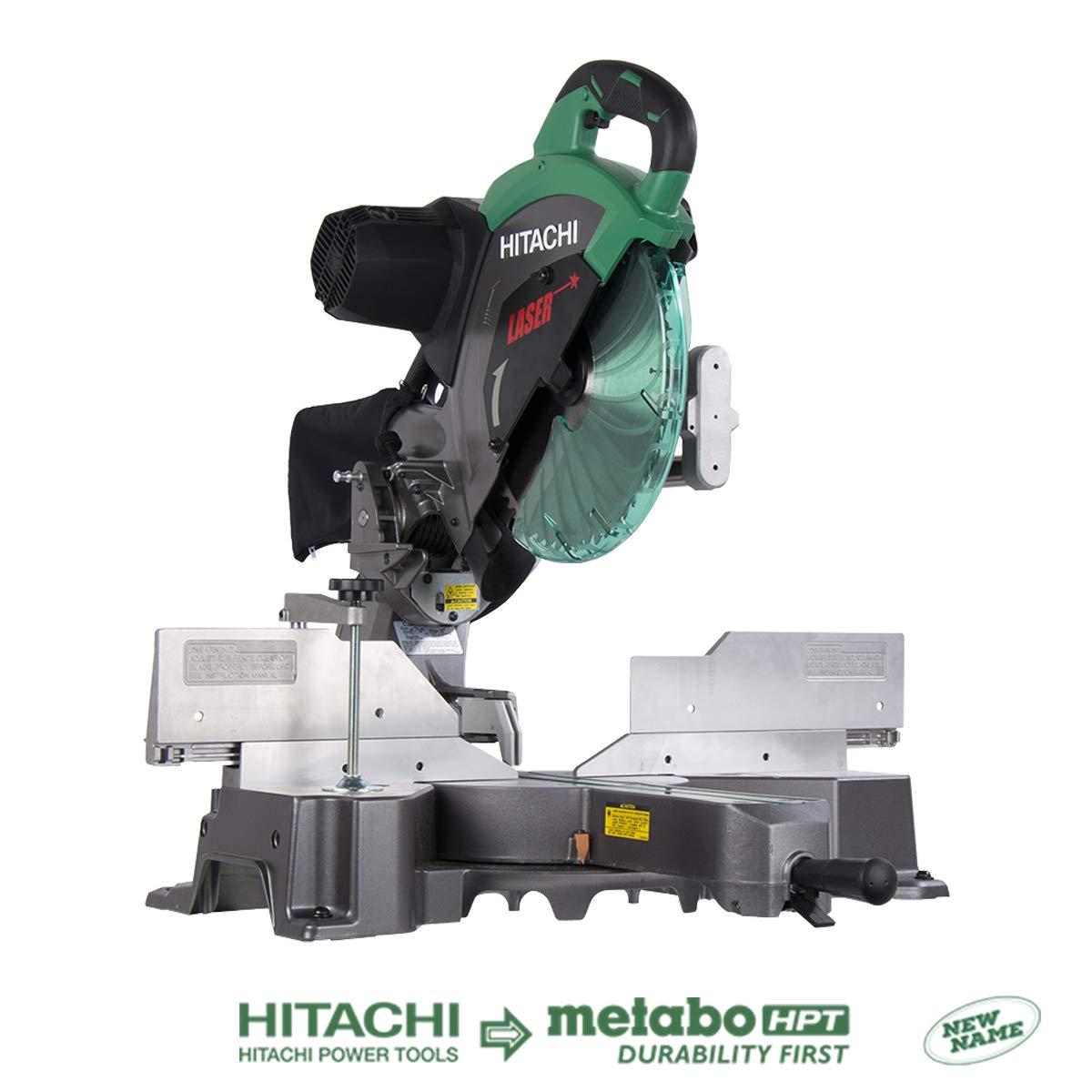 Lowes-B&M-YMMV-Hitachi 12-In 15-Amp Bevel Slide Laser Compound Miter Saw $209