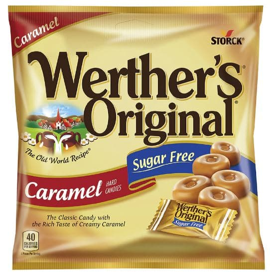 Werther's Original Sugar Free Hard Candies or Sugar Free Chewy Caramels - $0.49 @ Walgreens In-Store or Free Pickup on $10+