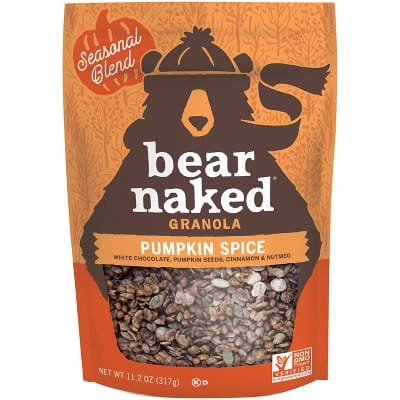 Bear Naked Granola - Pumpkin Spice 11.2oz OR Salted Caramel 11oz - As Low As $2.27 ea. w/ 35% Off Target Circle Coupon & Free Store Pickup
