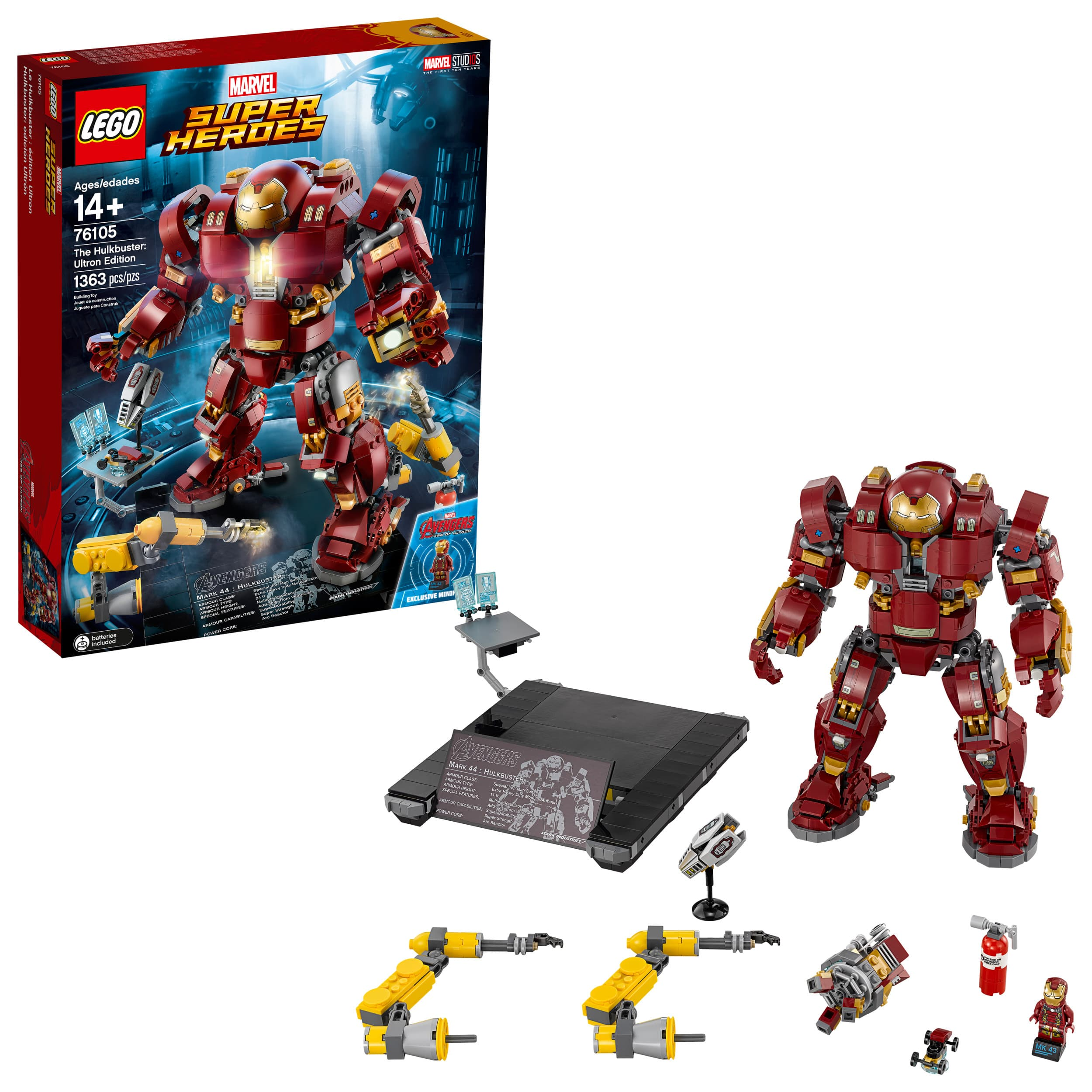 LEGO Super Heroes The Hulkbuster: Ultron Edition 76105 (1363 pcs) - $79.99