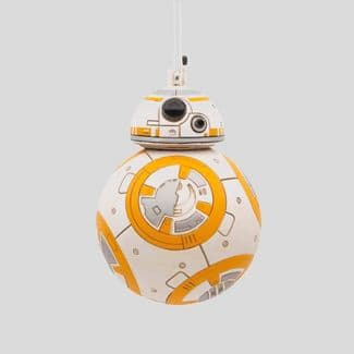 Hallmark STAR WARS Christmas Ornaments: BB-8, R2D2, Porg, Rey, Kylo Ren, Yoda, & Chewbacca – 6 for $25.20 ($4.20 ea.) + Free Shipping w/Target Red Card or on $35