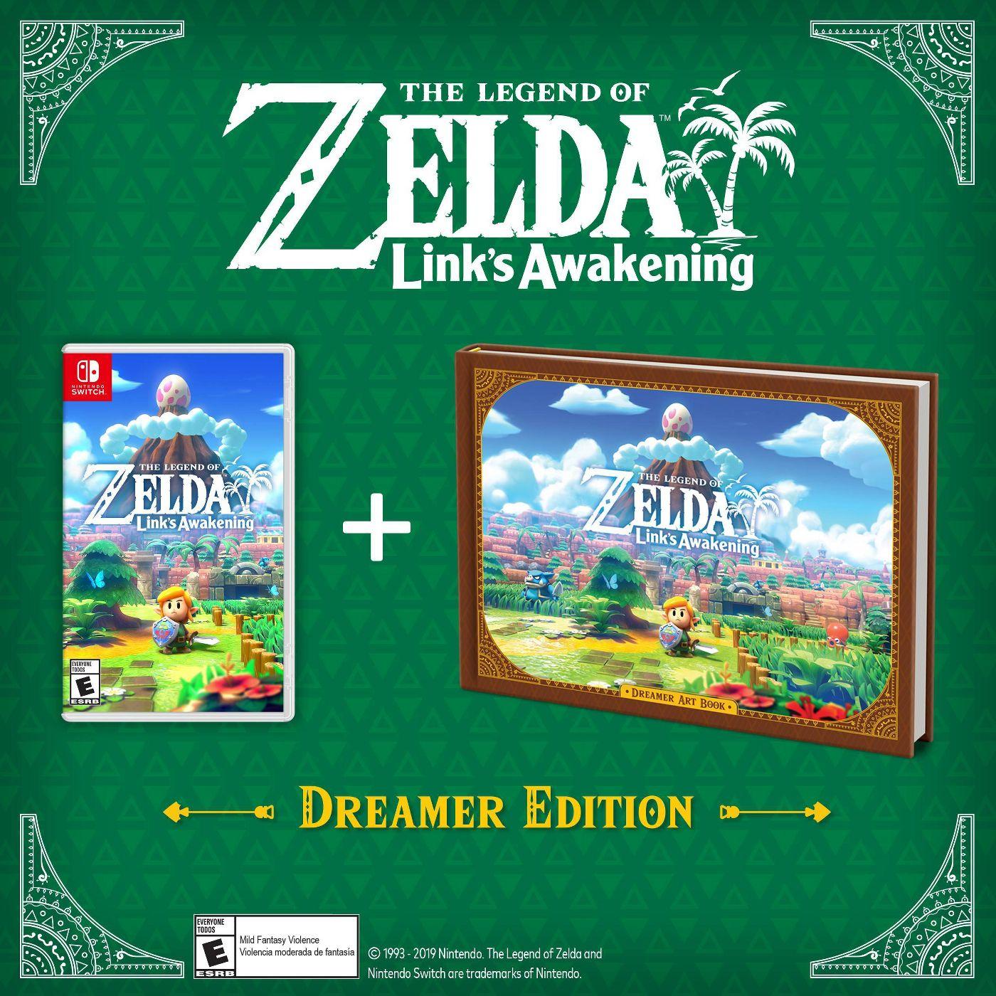 Preorder The Legend of Zelda: Links Awakening, Dreamer Edition or Amiibo from Target $69.99